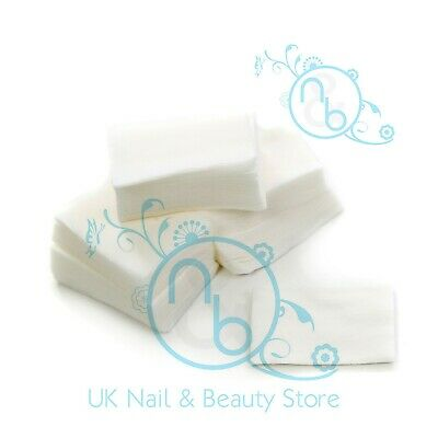 Lint Free Dry Unsoaked Soft Nail Wipes Acrylic Gel Polish Remover 100 200 900