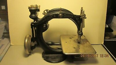Early, Unusual, Wilcox & Gibbs Sewing Machine