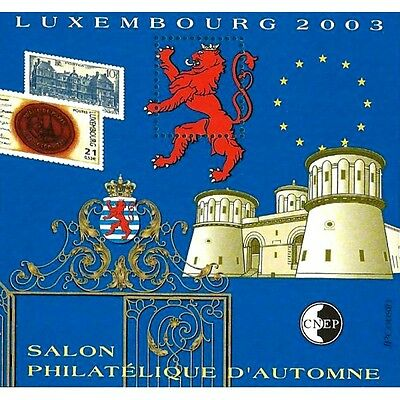"""Bloc Cnep N°_39 """"luxembourg 2003"""""""