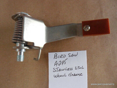 Stainless Wheel Cleaning Arm Assy Biro Saw #295 Models 11-22-33-34-44-1433-3334