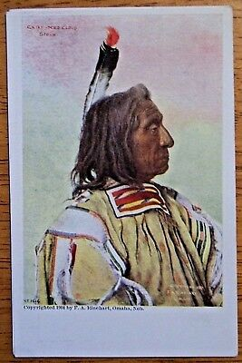 1904 Chief Red Cloud Sioux Indian Postcard