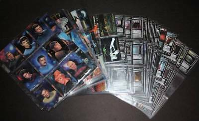 Lot of 300+ Star Trek Cards 1993 Set of 90, 5 Chase Cards, 122 NG Expansion 100+