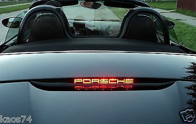 PORSCHE BOXSTER BOXSTER S 986 987 981 Windscreen Etched