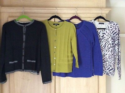 Bundle Of Jumpers And Cardigans Size 12 / 14  Autograph, M&S, Julien McDonald