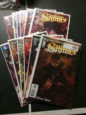Shade 1, 2, 3, 4, 5, 6, 7, 8, 9, 10, 11, 12-New52 Complete