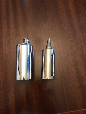 Vintage Pair of Anaesthetic Dropper Bottles