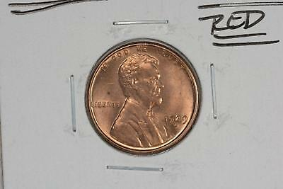 1929-S Lincoln Head Wheat Cent 1C Gem Bu Red