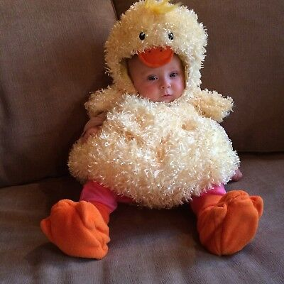 The Children's Place Costume Baby Chick or Duck Halloween 0-6 months