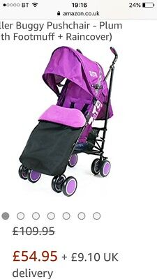 Pink stroller great condition selling as had a new one baught as a present