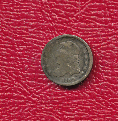 1836 Capped Bust Silver Half Dime **nice Circulated Type Coin**