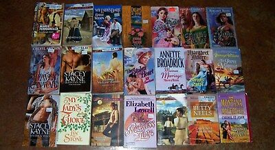 Bulk Lot 21 x HARLEQUIN Historical - Love Inspired - Romance Novels