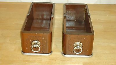 antique Sewing machine drawers  1800s