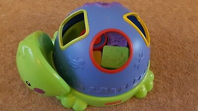 Fisher Price Turtle Shape Sorter Baby Toy