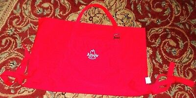 Arby's red apron white logo company collectible wearable