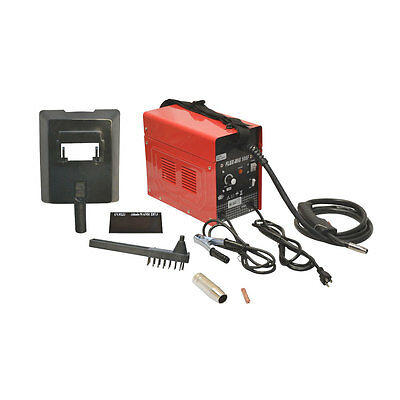 Mig 105 Flux Core Wire Mig Welding Machine 90AMP No Gas Welder Cooling Fan