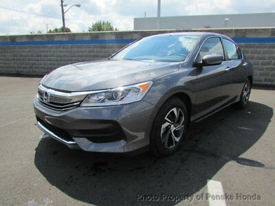 2017 Honda Accord LX CVT LX CVT New 4 dr Sedan CVT Gasoline 2.4L 4 Cyl  Modern Steel Metallic