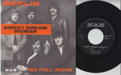 MERLIN * 1972 UK GLAM POWER POP * Belgian 45 * Listen!