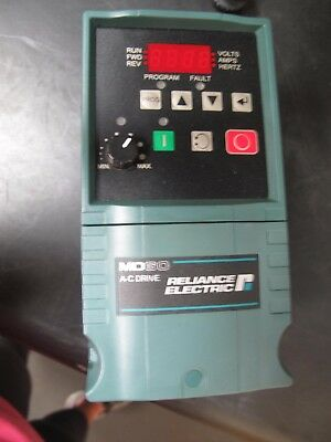 Reliance Electric 6Md4001 6Mddn-2P3101 Md60 Ac Drive Clean Working Unit