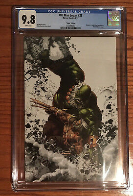 Old Man Logan 25 Deodato Virgin Edition CGC 9.8
