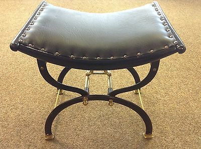 Late Victorian Cast Iron & Brass Piano Stool C.H.Hare & Son Model 18969