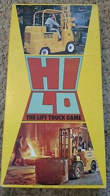 Vintage allis-chalmers hi lo the lift truck game by games for industry Inc. RARE