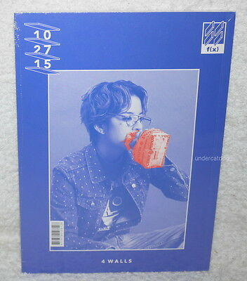 f(x) fx Vol.4 4 Walls Taiwan Ltd CD+76P bookler+Card (Amber Cover)