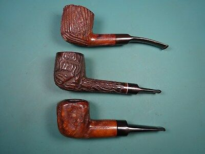 Lot of 3 Estate Pipes
