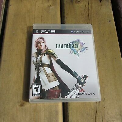 Final Fantasy XIII (Sony PlayStation 3, 2010) Complete.  NICE!