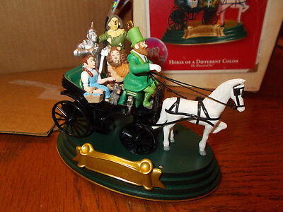 "2002 Hallmark Keepsake Ornament Wizard Of Oz ""horse Of A Different Color"""