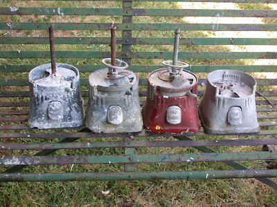 Gumball machine parts antique as is as found in old barn PROJECTS lot #2