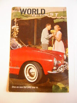 1963  Vw Owners Small World Vol. 2 # 2 Magazine