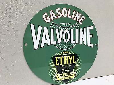 Gasoline  oil gas metal Round  sign