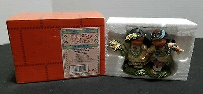 Enesco Friends of the Feather 2000 Love's Journey Lasts A Lifetime Figurine