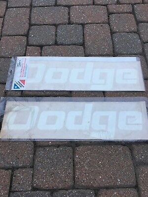 Dodge Mopar OEM MoparStickers Decals Don't know what they are worth??