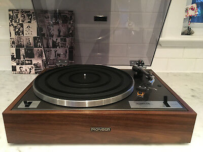 Vintage Pioneer PL-10 Turntable - In Exceptional Condition