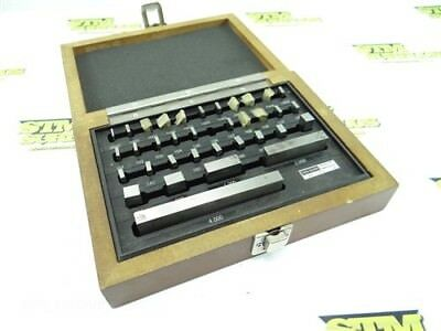 """Set Of Machinists Gage Blocks .0500"""" To 4"""" Spi Links"""
