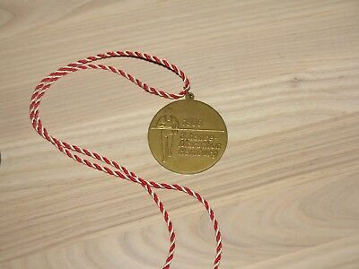3. Hanse Marathon Hamburg Medaille 1988 Original Teilnehmer Finisher - Top Rar