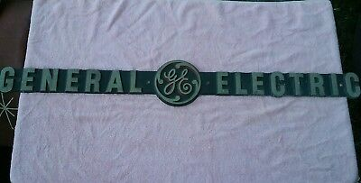 General Electric Vintage Sign selling AS-IS condition