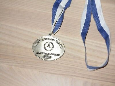 Mercedes Benz Halb Marathon 2004 Medaille Original Teilnehmer Finisher - Top Rar