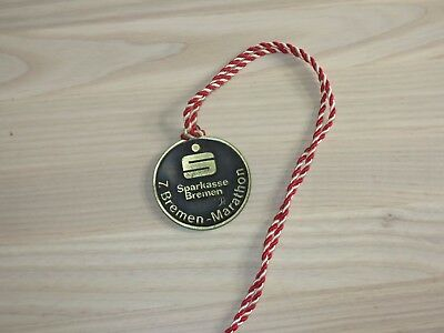 7. Bremen Marathon Medaille Original Teilnehmer Finisher - Top Rar