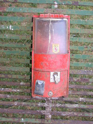 Antique Jet 1950 gumball machine as is as found