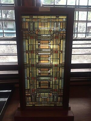 Frank Lloyd Wright Oak Park Glass