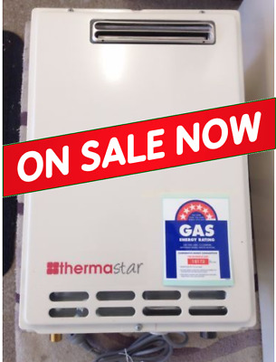 Thermastar 26L LPG Continuous Flow Gas Hot Water Heater, same as Takagi Eternity
