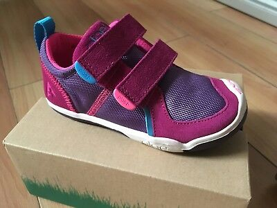 Plae Shoes - Ty - Suede - Fuchsia Purple - Kids Size 10 - 12