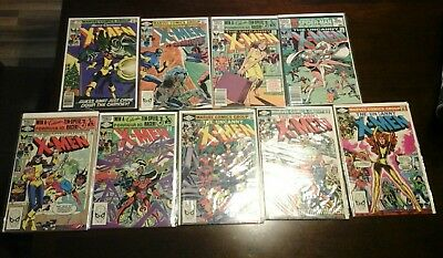 Marvel Uncanny X-Men Higher Grade Comic Lot Of 9 No Reserve