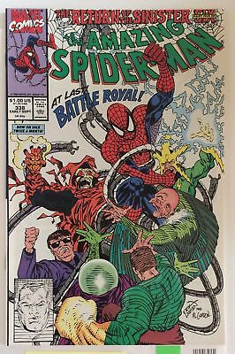 The Amazing Spider-Man #338 NM PETER PARKER ELEKTRO SINISTER SIX Marvel Comic