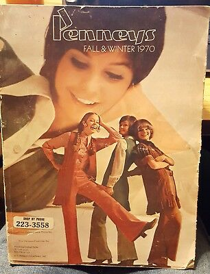 Vintage JCPenney's Fall Winter 1970 Catalog ~ 1179 Pages
