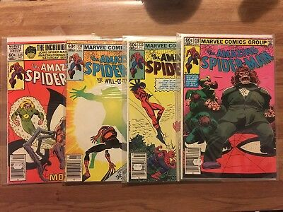 Amazing Spider-Man #232 #233 #234 #235 (Lot of 4~Marvel 1982) Death of Tarantula