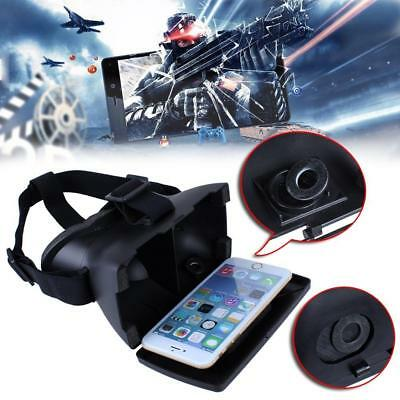 Hot Virtual Reality VR 3D Video Games Glasses Plastic For iPhone 6 Samsung S6 PK