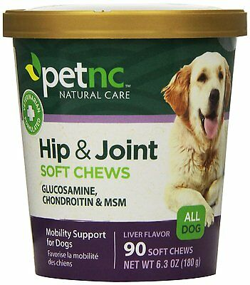PetNC Natural Care Hip and Joint Health for Dogs chew 90 count